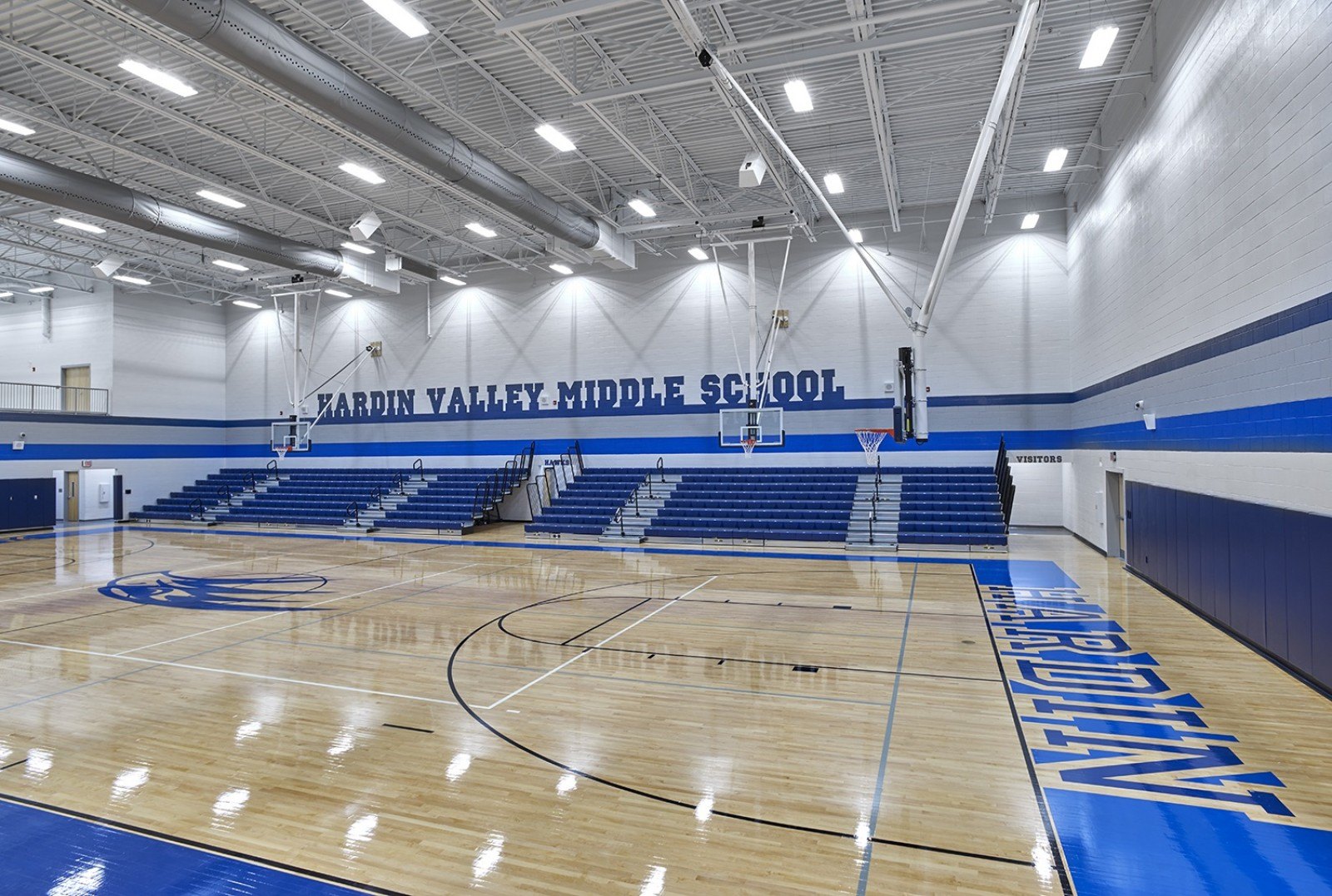 Hardin Valley Middle School - Gym