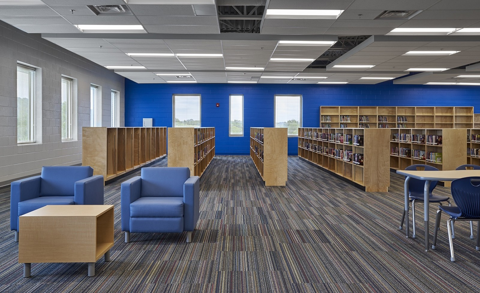 Hardin Valley Middle School - Library