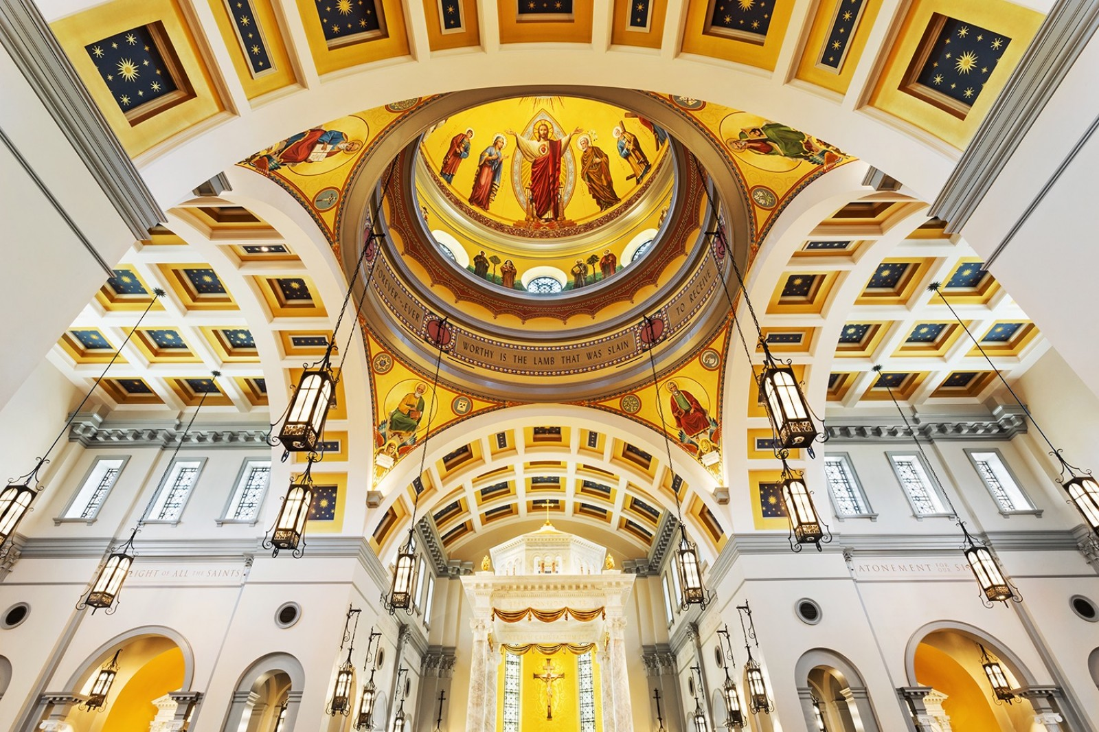 Sacred Heart Cathedral - Dome
