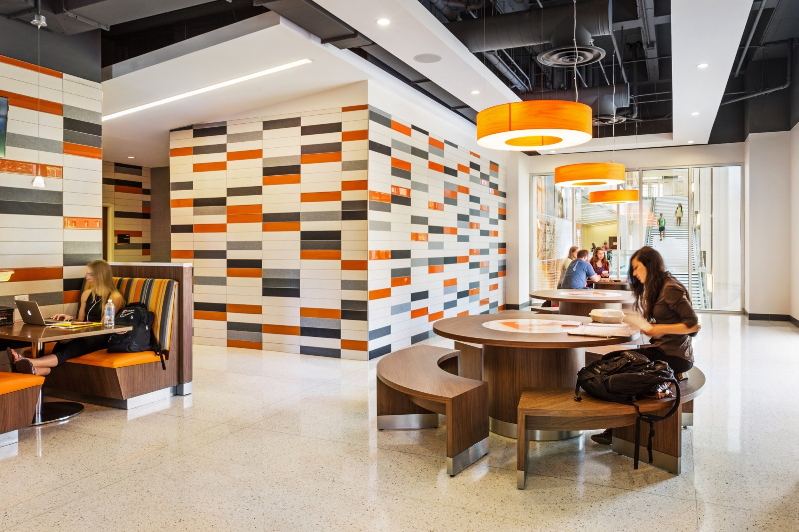 UTK Student Union - Tables and Tile